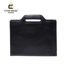 TP Brand Design New Portable Men's Handbag Single Shoulder Bagcrossbody Bag Men Leisure Business Briefcase Stereotyped Packagefile Handbag -Black - Intl