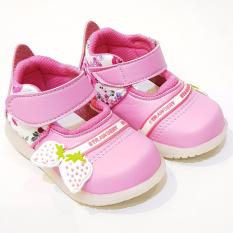 TrendiShoes Sepatu Anak Bayi Perempuan Variasi Berry UDXB02 - Pink