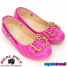 TrendiShoes Sepatu Anak Perempuan Cantik LNHK - Fuchsia