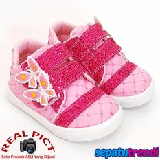 TrendiShoes Sepatu Anak Perempuan KPWJ - Pink Fuchsia