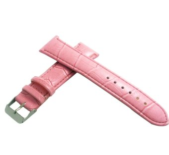 Twinklenorth Calfskin Calf Women Pink Leather Band Strap WW-021