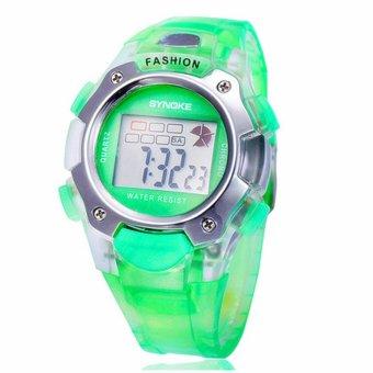 Twinklenorth Men's Green Plastic Strap Watch 99319-3