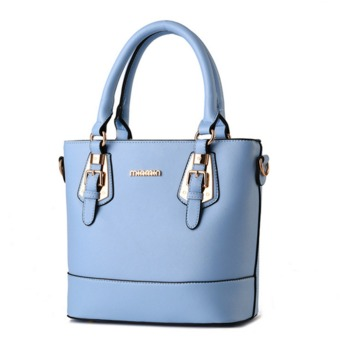 UNC Women Love Korean Style PU Leather Tote Bag Handbags Shoulder Bag Crossbody Bag - Intl - Intl
