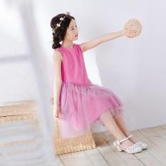 Ungu pada anak gadis gaun (Violet)