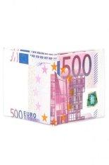 Unique Creative 500 Euro Bill Style Wallet