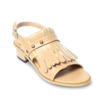 Urban Looks - Giselle Fringe Heels - Mocha