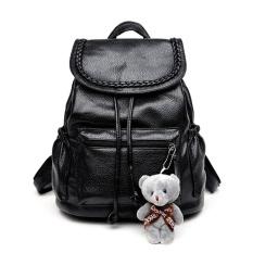 Vallen Women Backpack / Tas Fashion Wanita / Tas Ransel Wanita - Free Boneka Beruang