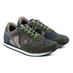 Varka V096 Sepatu Sneakers Olahraga Lari dan Joging - Army