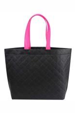 Velishy Shopping Bag Eco Travel Reusable Bags Black