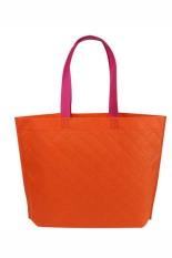 Velishy Shopping Bag Eco Travel Reusable Bags Orange