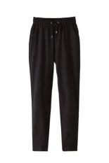 Velishy Women Pants Chiffon (Black)