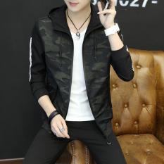 Versi Korea Dari Pria Muda Di Musim Gugur Dan Dingin Mantel Jaket Baru 6034
