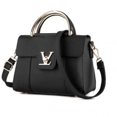 Vicria Tas Branded Wanita - Korean High Quality Bag Style - BLACK