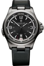 Victorinox Swiss Army Jam Tangan Premium - Hitam - Strap Rubber - VSA241