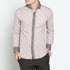 VM - Kemeja Batik Modern Slimfit Panjang
