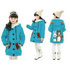Vrichel Collection - Jaket Anak Perempuan Bear & Bunny (Turkish)