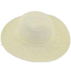 ... Pantai Source · Jerami Bertepi Source Terkulai Matahari Source Wanita lipat sedotan pelindung matahari topi bertepi lebar topi Floppy
