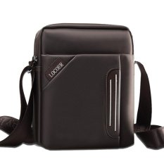 Waterproof Brand Men Messenger Bags, New Fashion Men's Crossbody Bag Designer Handbags High Quality Casual Men Bag 26x8x22cm (Brown) - Intl
