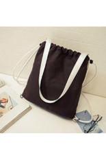 Wholesale Handbag In The Spring Of 2016 The New BackpackMulti-purpose Han Edition Canvas Bag Handbag High-capacity LeisureShoulder Bag Black - Intl