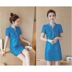 ... 369 Mini Look Dress Biru Muda Price List Update Source WinKin Mini Dress Evi Biru Muda