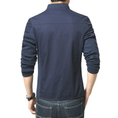 Winter Cotton Casual Men Jacket Slim Thin Sports Fashion Men's Coats. (Intl)