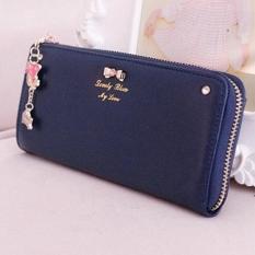 OEM Long Card Purse Handbag Zip Wallet Bag Holder 19.2x9x2.3cm