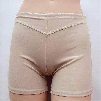 Women Mesh Booty Lifter Butt Enhancer Sport Shorts Pants (Nude) - intl