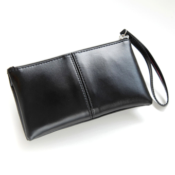 Women PU Leather Soft Wallet Ladies Coin Purse+Black - Intl - intl