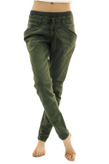 Women Sports Pants Casual Long Pants Gym Wear Green (Intl)
