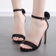 Women's High Heels Sexy Party Sandals Black - intl