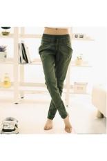 Women's Casual Loose Long Pants Small Leg Pants (Intl)