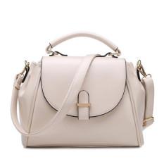 Women's Handbag 2016 Vintage Fashion Messenger Bag Handbag Female Shoulder Bag Luxury Women Handbag (Beige) - Intl
