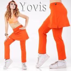 Yovis CBR Rok Olahraga / Baju Senam Wanita - Orange