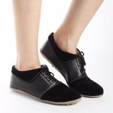 Yutaka Sepatu Wanita Keren - Semi Boots - Hitam