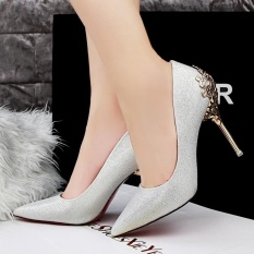Z Sexy Pointed High-heeled Shoes, Korean Style, Spring and Autumn Shoes,Women's Fashion - intl