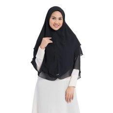 Zada Cyra Hijab Syar'i - Hitam