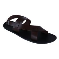 Zada Ron Sandal Sepatu - Coklat Tua