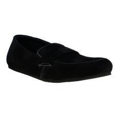 Zada Sepatu Pria Mocassin - Black