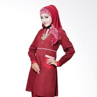 ZEA - Tunik Mecca Fatima (Red)