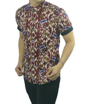 Zimplle Slimfit Batik Pria ZOB 212 Multicolor