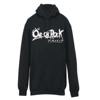 Zims Jaket Hoodie One OK Rock Black
