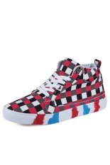 Znpnxn Canvas Men Fashion Sneakers with High Cut (Red) (Intl)