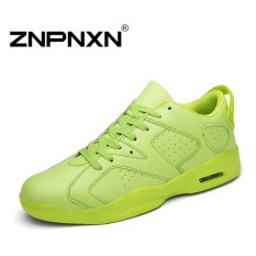 ZNPNXN Men's Fashion Breathable Casual Running Shoes Lovers Sports Shoes (Green) - Intl