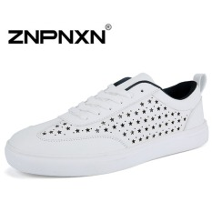 ZNPNXN Men's Fashion Loafers Shoes Slip-on Shoes Casual Men's Shoes Business Shoes Fashion Shoes (Black)