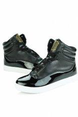 Znpnxn Men's Fashion Sneakers with High Cut (Black) (Intl)