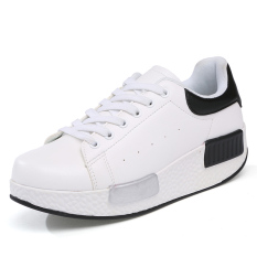 ZNPNXN Women's Fashion Sneakers Shoes Tull Shoes Spotrs Shoes Walking Shoes Wedges Shoes (White)
