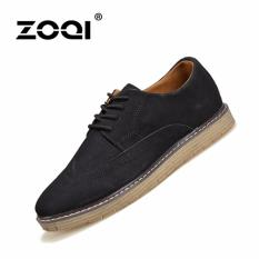 ZOQI Summer Man's Formal Low Cut Shoes Fashion Casual Comfortable Shoes-Black - Intl