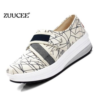 ZUUCEE Women's Fashion Waterproof Travel Leisure Shoes Slippers Non-slip Platform Shoes Sports Shoes(