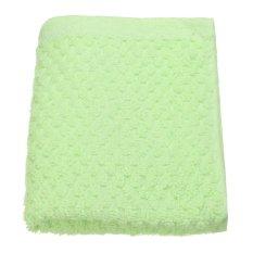 72x31cm Cotton Towel Face Cloth Hand Bath Towel Green - Intl