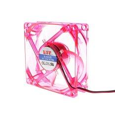 8 Centimetre CPU Cooler Fan Red (Intl)